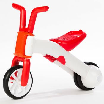 Беговел Chillafish Bunzi (для детей от 1-1,5 года, резиновые колеса) красный